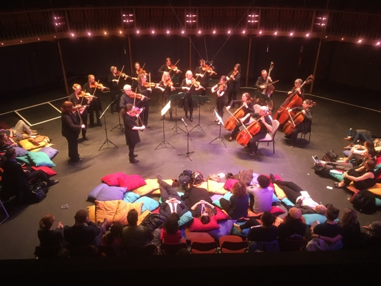 Strings at the Albany