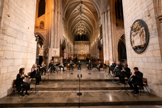 City of London Sinfonia winds