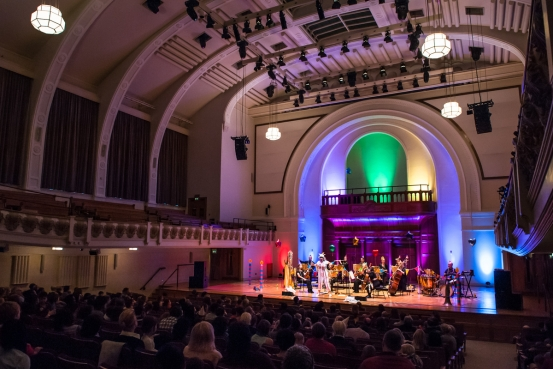 Cadogan Hall full stage