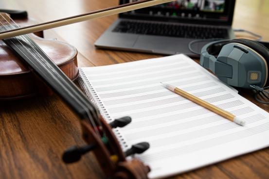 Online creative music-making