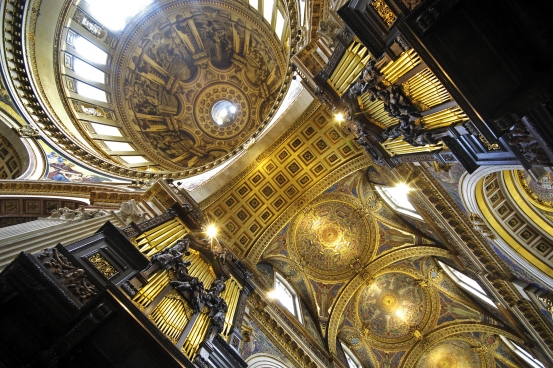 St Paul's Cathedral Organ and Dome